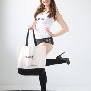 Picture of Prairie Diva Dance Tote Bag