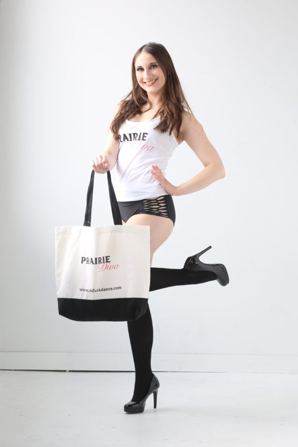 Picture of Prairie Diva Dance Tote Bag